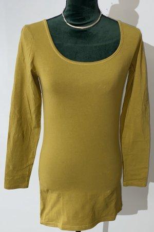 VERA MODA - Basic-Shirt - kaki - langarm - Freizeit / Home - BASIC