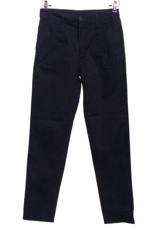 Vera Moda High-Waist Hose blau Casual-Look