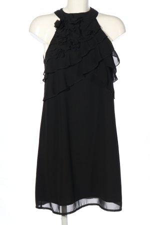 Robe dos-nu noir élégant