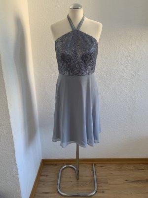 Vera Mont Robe dos-nu bleu azur