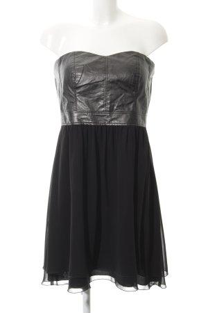 Vera Mont A-Linien Kleid schwarz-anthrazit Elegant
