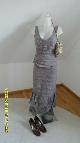 Vera Mont Abend Kleid / Kostüm Top & Rock Gr. 38/ 42