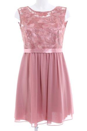 Vera Mont Abendkleid pink Blumenmuster Elegant