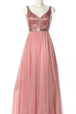 Vera Mont Abendkleid pink-silberfarben Elegant
