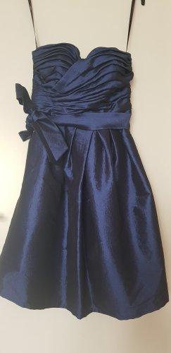 Vera Mont Abendkleid / blau, modern / Größe 38