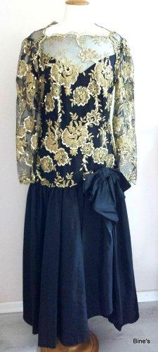 Vera Mont Abendkleid mit Pailletten Gr. 40