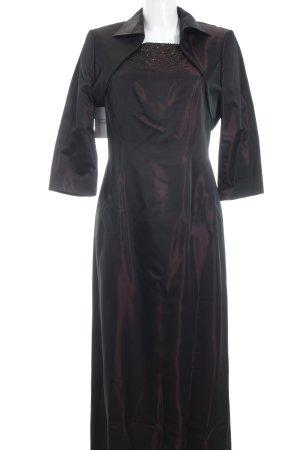 Vera Mont Abendkleid schwarz-brombeerrot Elegant
