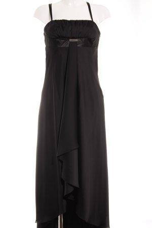 Vera Mont Abendkleid schwarz-silberfarben Elegant