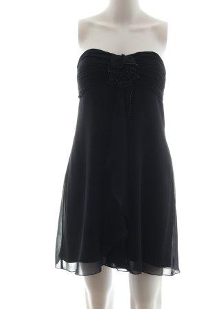 Vera Mont Vestido babydoll negro elegante