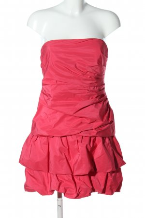 Vera Mont vestido de globo rosa elegante