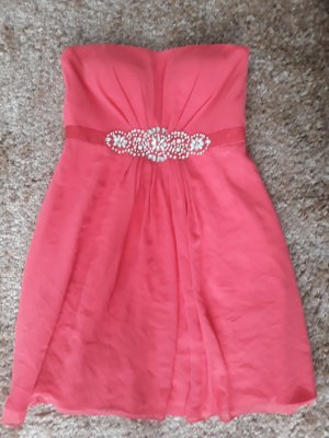 Vera Mont Bandeau Dress bright red