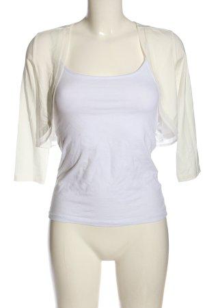 Vera Mont Bolero bianco stile casual