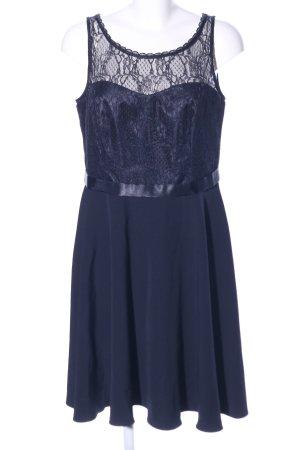 Vera Mont Vestido de cóctel azul elegante