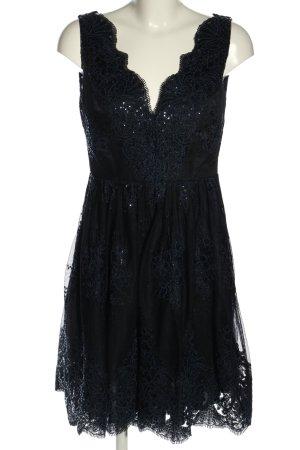 Vera Mont Cocktailkleid schwarz-blau Elegant