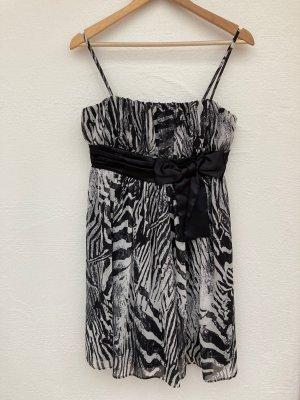 Vera Mont Cocktailkleid schwarz-weiß