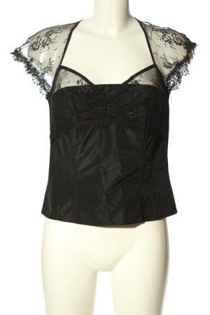 Vera Mont Haut type corsage noir style festif