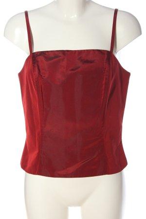 Vera Mont Corpiño rojo elegante