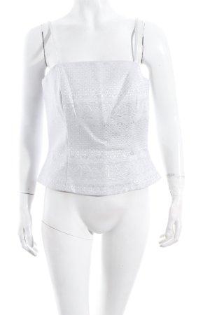 Vera Mont Corsage topje lichtgrijs-zilver extravagante stijl