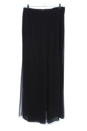 Vera Mont Pantalone culotte nero elegante