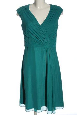 Vera Mont Empire Dress turquoise elegant