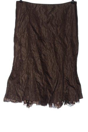 Vera Mont Flared Skirt brown elegant