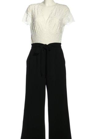 Vera Mont Jumpsuit weiß-schwarz Casual-Look