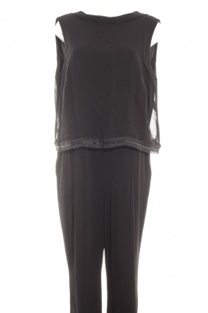 Vera Mont Jumpsuit schwarz schlichter Stil