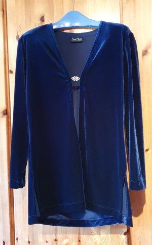 Vera Mont - Kleid 2-teilig - blau samtig
