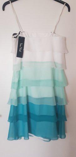 Vera Mont Kleid  / 3-farbig / luftig, für den Sommer / Größe 34