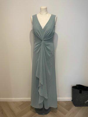 Vera Mont Kleid Gr.38 blau türkis Abendkleid Ballkleid Hochzeit