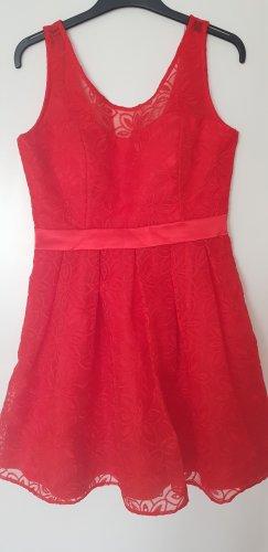 Vera Mont Kleid / Rot, elegant / Größe 38-40