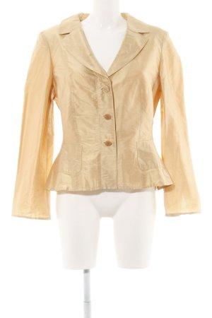 Vera Mont Kurz-Blazer goldfarben extravaganter Stil