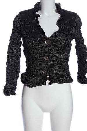 Vera Mont Kurz-Blazer schwarz extravaganter Stil
