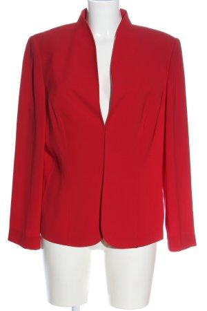 Vera Mont Korte blazer rood zakelijke stijl