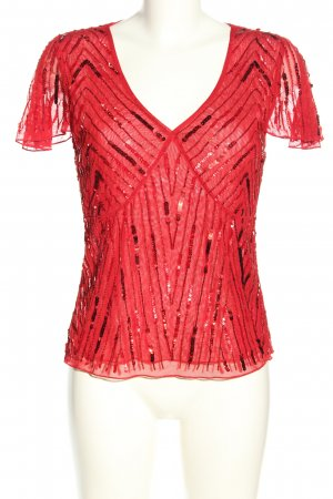 Vera Mont Kurzarm-Bluse rot Casual-Look