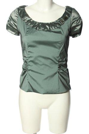 Vera Mont Kurzarm-Bluse khaki Elegant