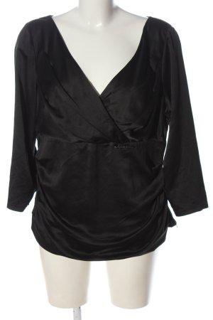 Vera Mont Camicetta a maniche lunghe nero elegante