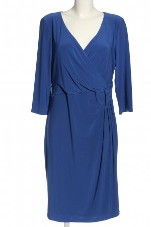Vera Mont Abito a maniche lunghe blu stile casual