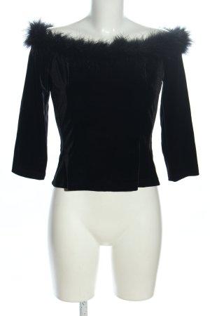 Vera Mont Koszulka z długim rękawem czarny Elegancki