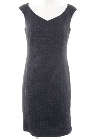 Vera Mont Midikleid dunkelblau abstraktes Muster Elegant