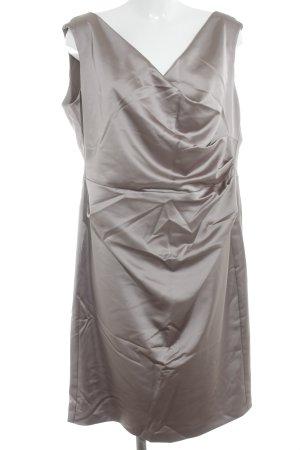 Vera Mont Mini Abito marrone-grigio stile professionale