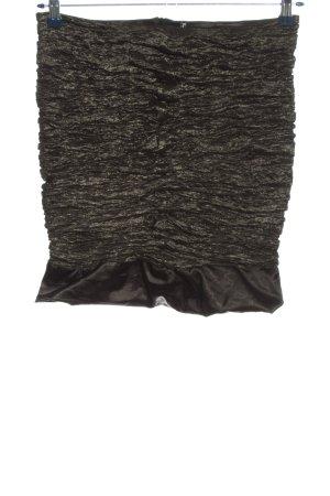 Vera Mont Minirock schwarz-bronzefarben Casual-Look