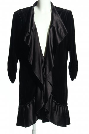 Vera Mont Dressing Gown black casual look