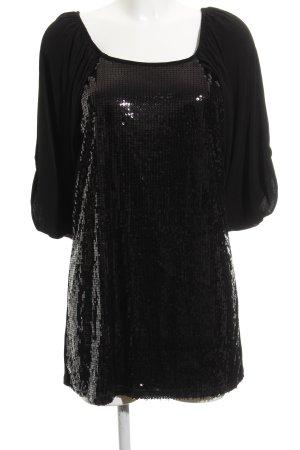 Vera Mont Pailettenkleid schwarz Elegant