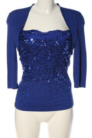 Vera Mont Schlupf-Bluse blau Elegant