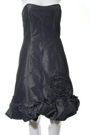 Vera Mont schulterfreies Kleid schwarz Casual-Look