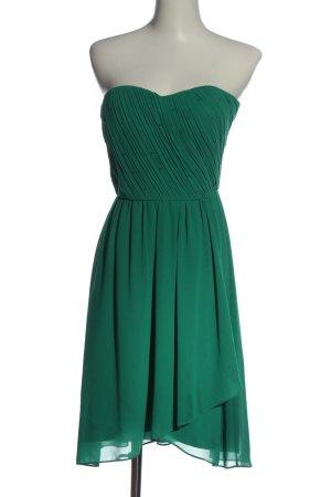 Vera Mont schulterfreies Kleid grün Elegant
