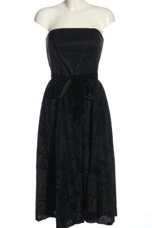 Vera Mont schulterfreies Kleid schwarz Elegant