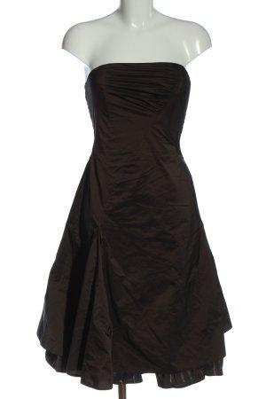 Vera Mont schulterfreies Kleid braun Elegant