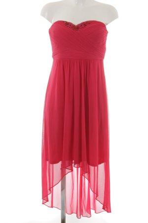 Vera Mont schulterfreies Kleid magenta Elegant